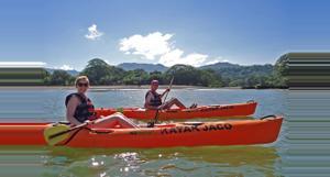 Costa Rica Kayak y Snorkel en el mar Jacó