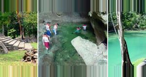 Belize Lubaantun Mayan Ruin & Cave Swimming (RG)