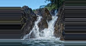 Belize Jungle Pontoon Waterfall Adventure
