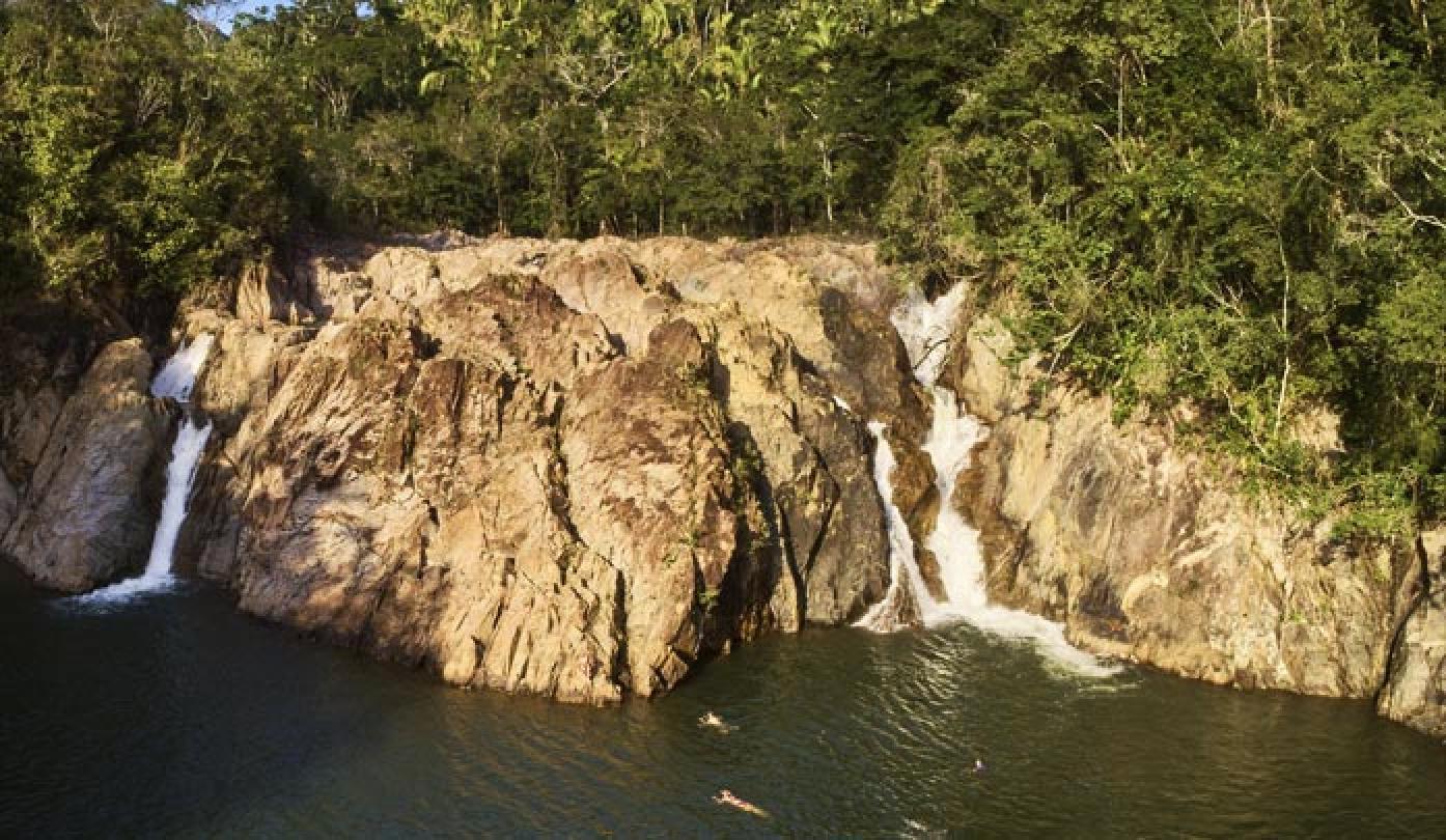 Jungle Pontoon Waterfall Adventure