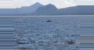 Guatemala Kayak desde Panajachel hacia Santa Catarina Palopó