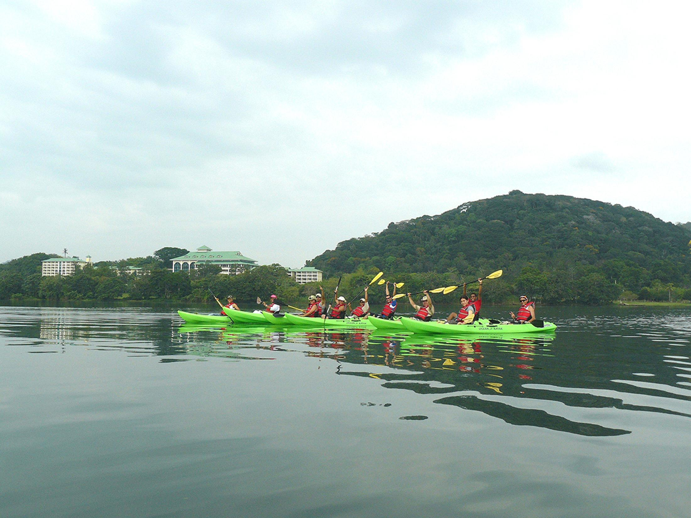 Kayaking on the Panama Canal