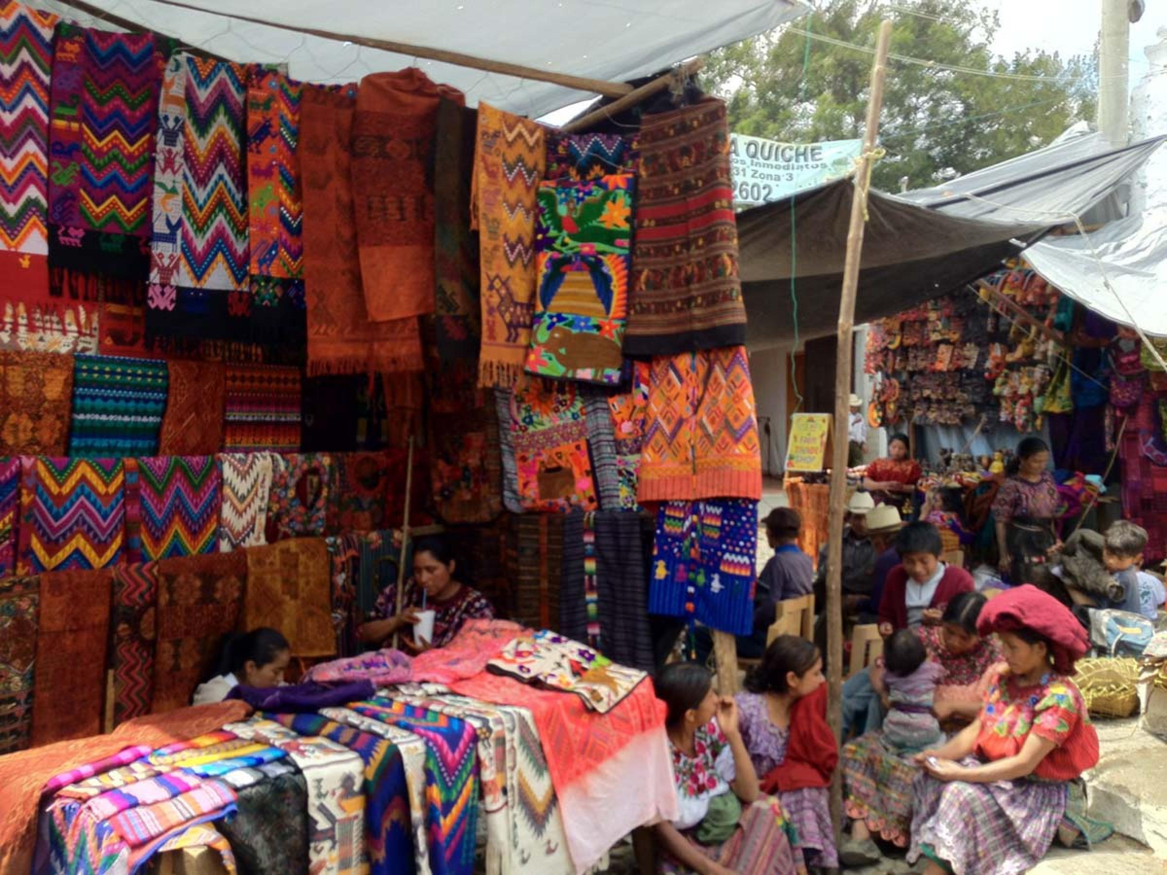 Market Tour To Chichicastenango