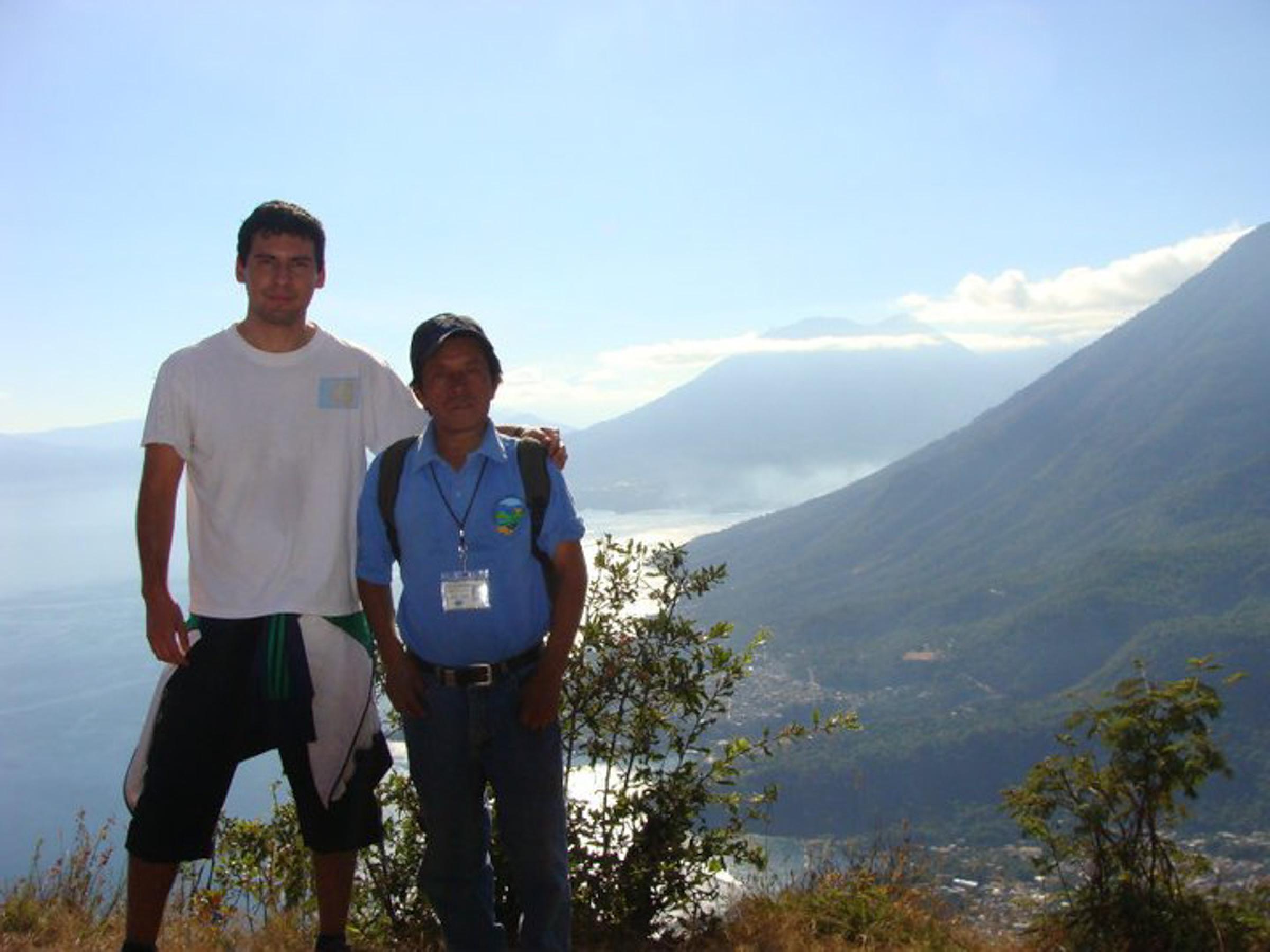 Mayan Face Hill