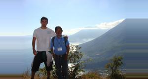 Guatemala Montaña Rostro Maya