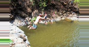 Costa Rica Aventura por las Cataratas Montezuma sin Tirolesas