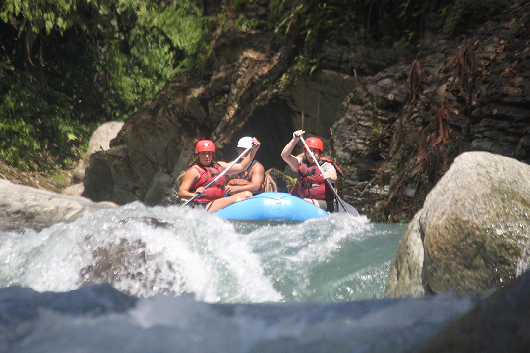 Naranjo River Rafting (Chorro Section)