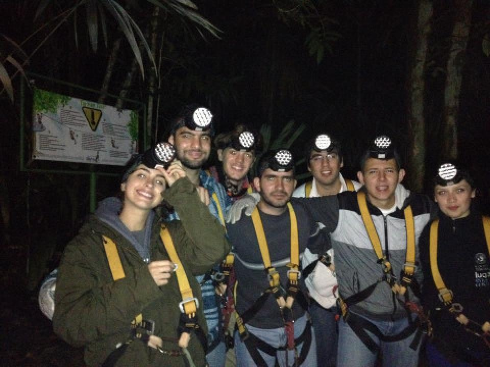 Nighttime Tarzan Canopy Tour