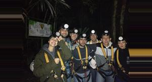 Guatemala Canopy Tour Night Tarzan