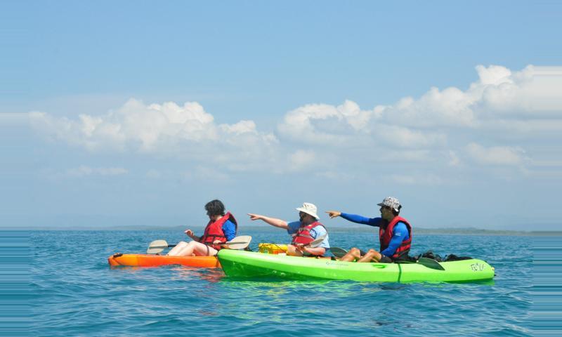 Ocean Kayaking and Snorkeling Manuel Antonio