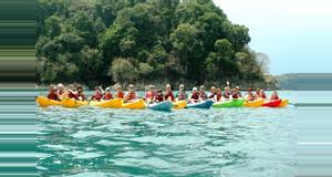 Costa Rica Ocean Kayaking and Snorkeling Manuel Antonio