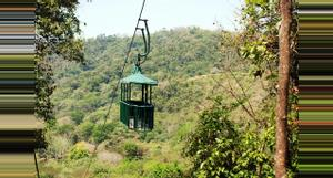 Costa Rica Teleférico y Canopy Tour en Bosque lluvioso del Pacifico