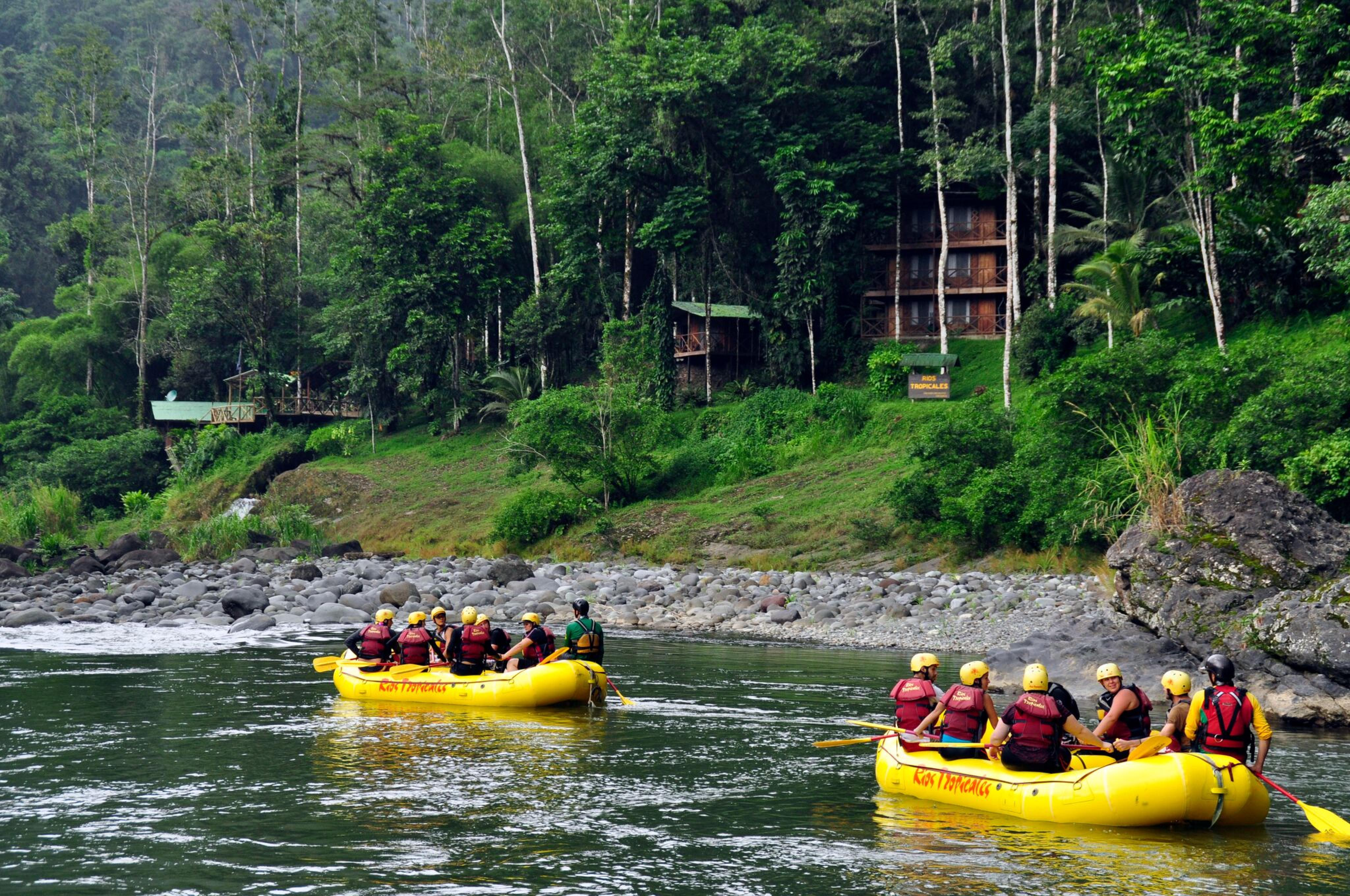 Pacuare River Rafting Class III-IV