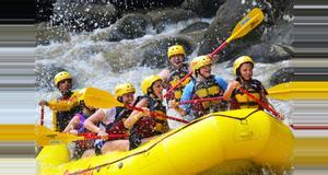 Costa Rica Rafting en Río Pacuare Clase III-IV Tour De Un Día