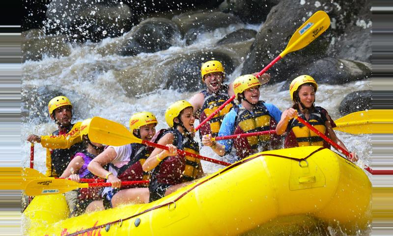 Pacuare River Rafting Class III-IV One Day Trip