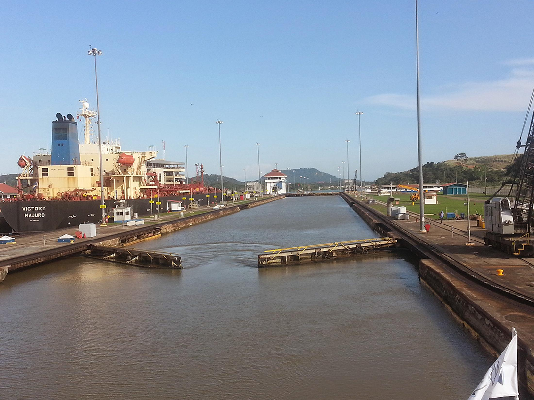Partial Transit of the Panama Canal