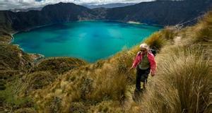 Ecuador Quilotoa Lake