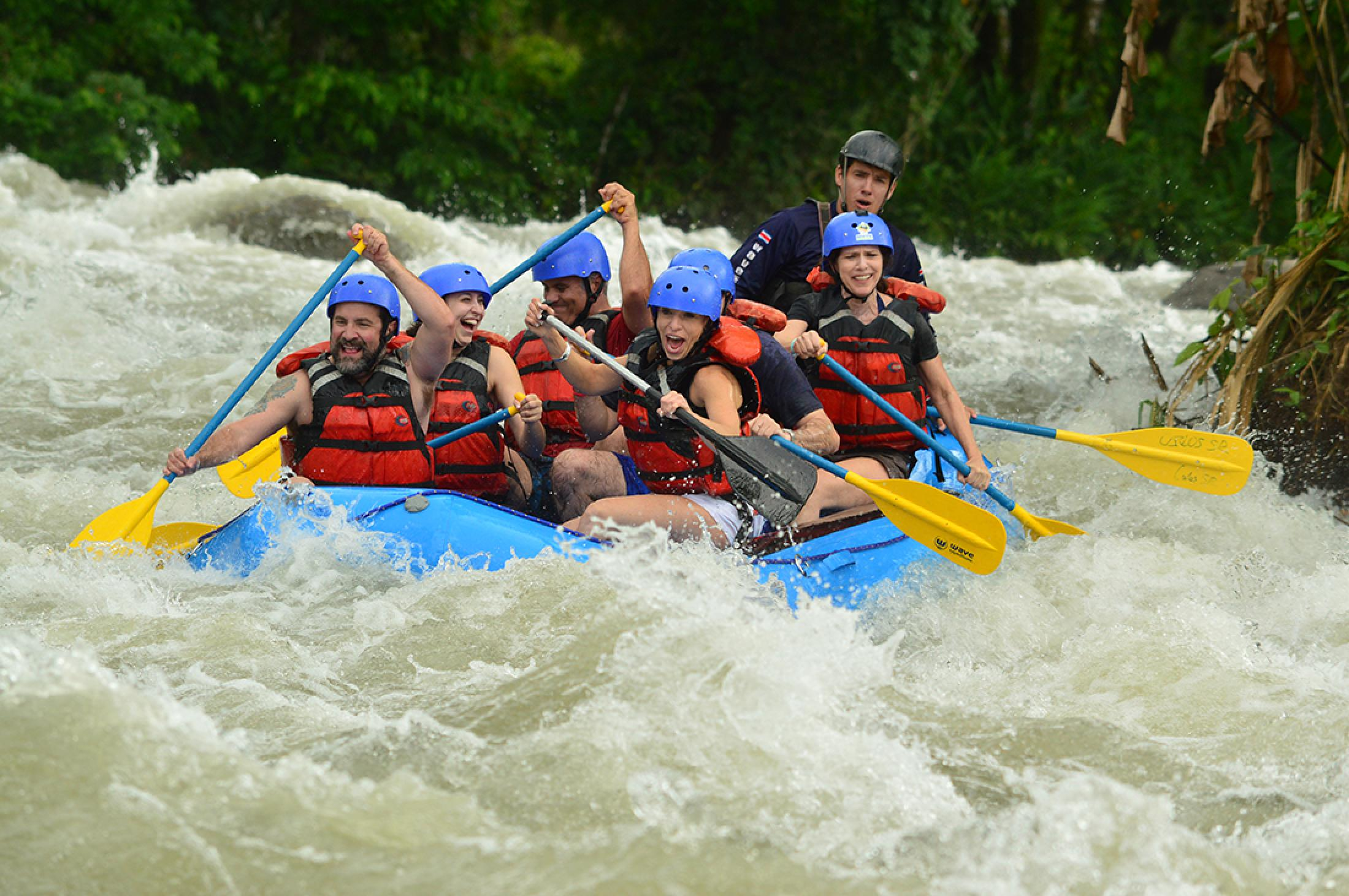 Balsa River Half Day Rafting