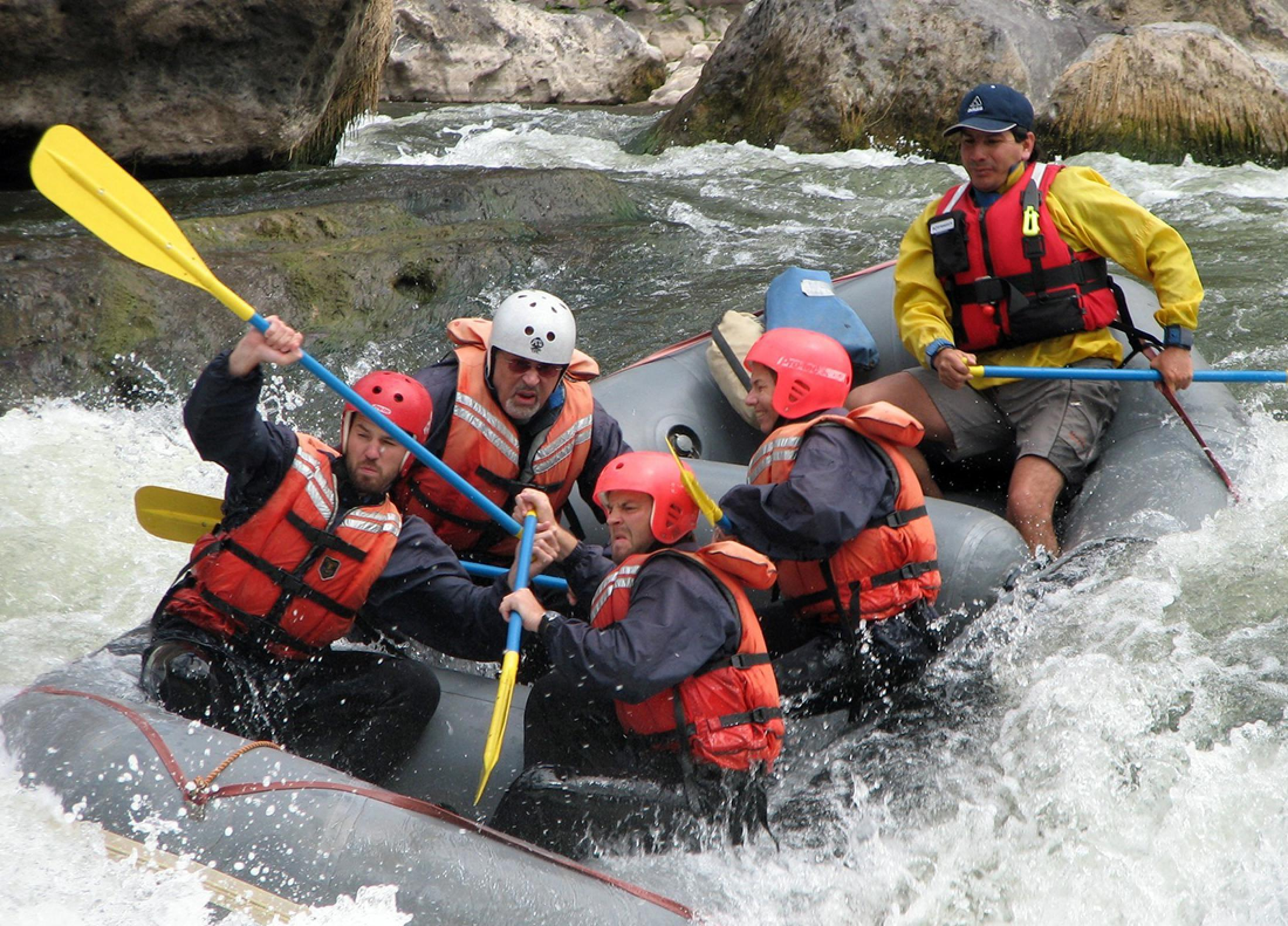 Rafting Río Urubamba - sección Piñipampa