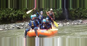 Ecuador Rafting – Pastaza River - Baños, level III/IV rapids