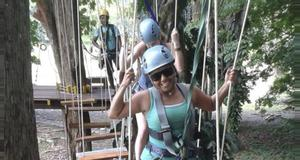 Costa Rica High Ropes Course Tour