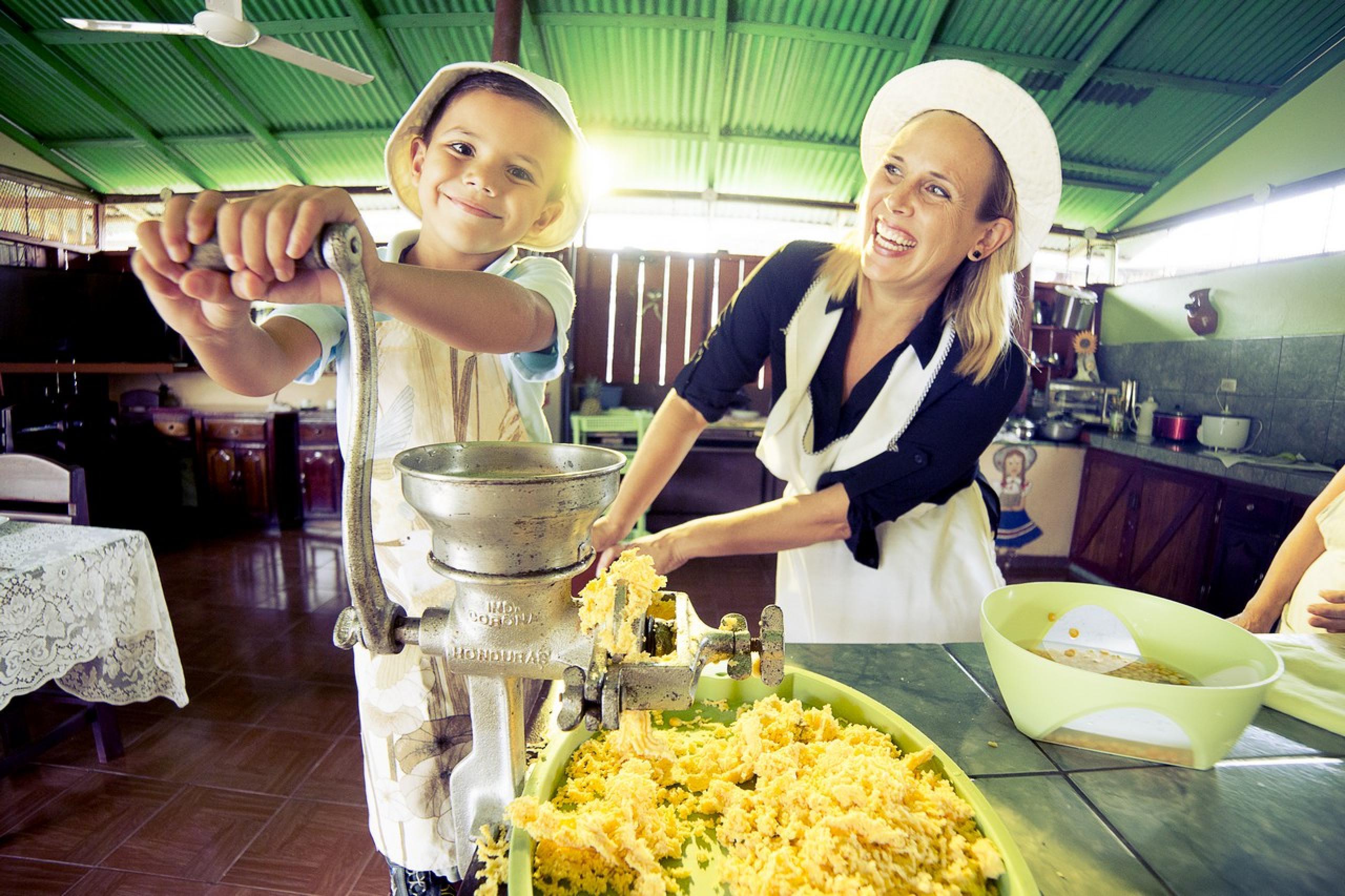 Tour de vida silvestre y preparación de tortillas