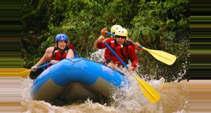 Costa Rica Rafting de Aguas Rápidas en Costa RIca