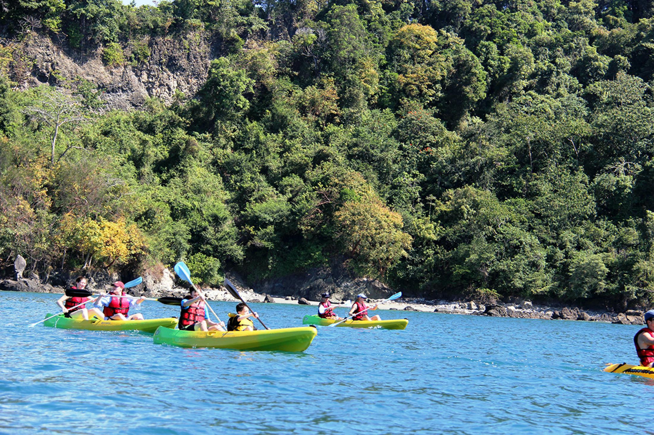 Kayak y snorkel en Manuel Antonio