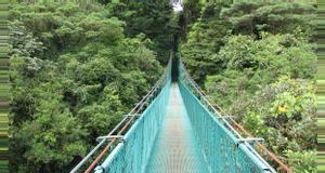 Costa Rica Selvatura Puentes Colgantes, Mariposas y Colibríes