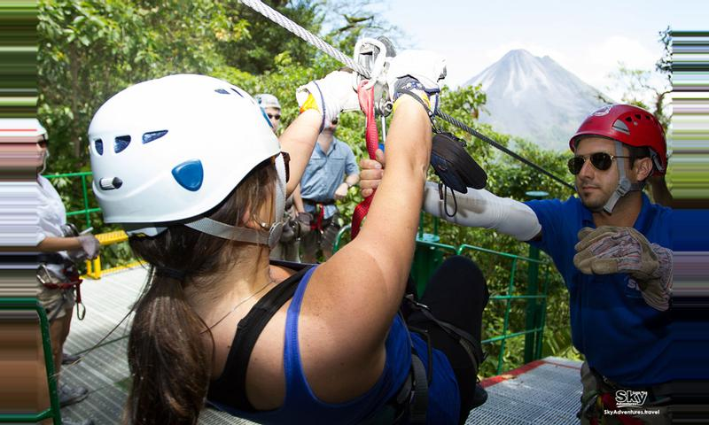 Sky Tram, Sky Trek and Sky Walk Arenal