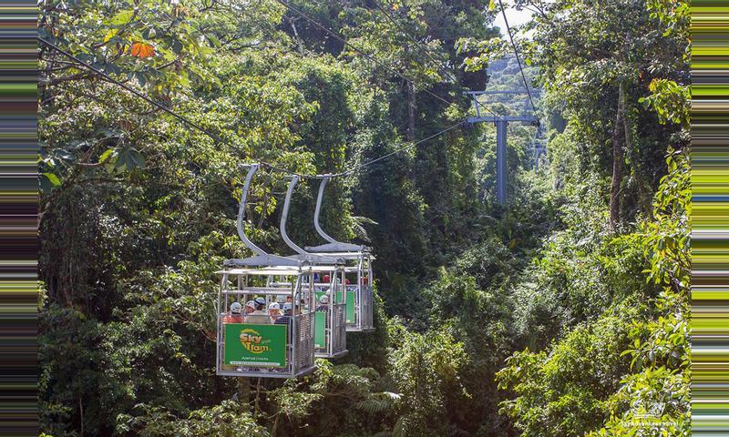 Sky Tram y Sky Walk en Monteverde