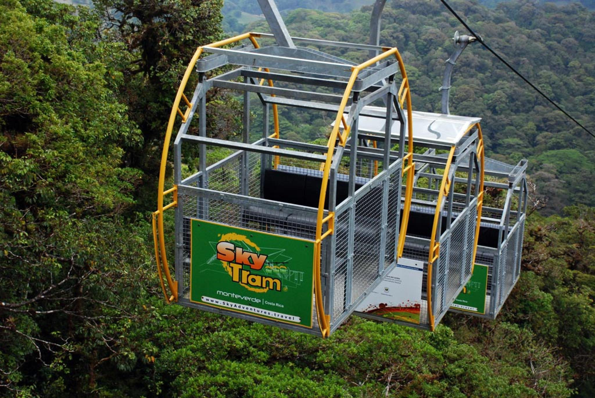 Sky Tram, Trek and Sky Walk