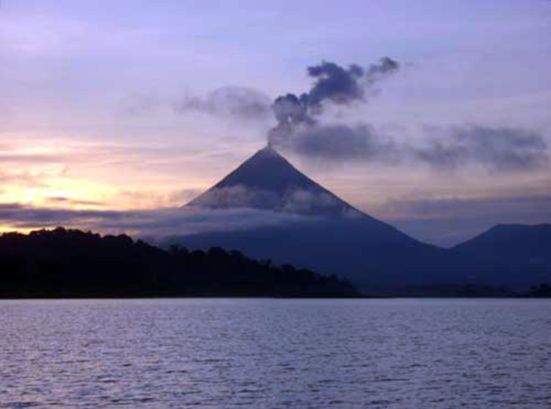 Sunset Cruise on Arenal Lake
