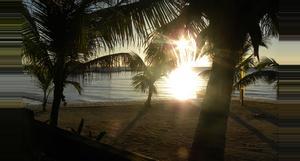 Belize Crucero en el Atardecer