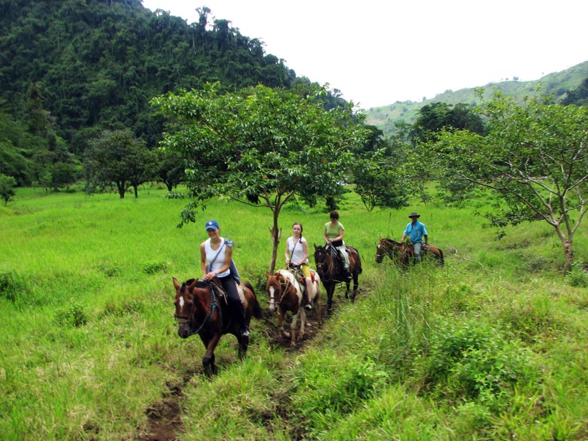 Tour a caballo de Arenal hacia Monteverde (Ruta del Lago)