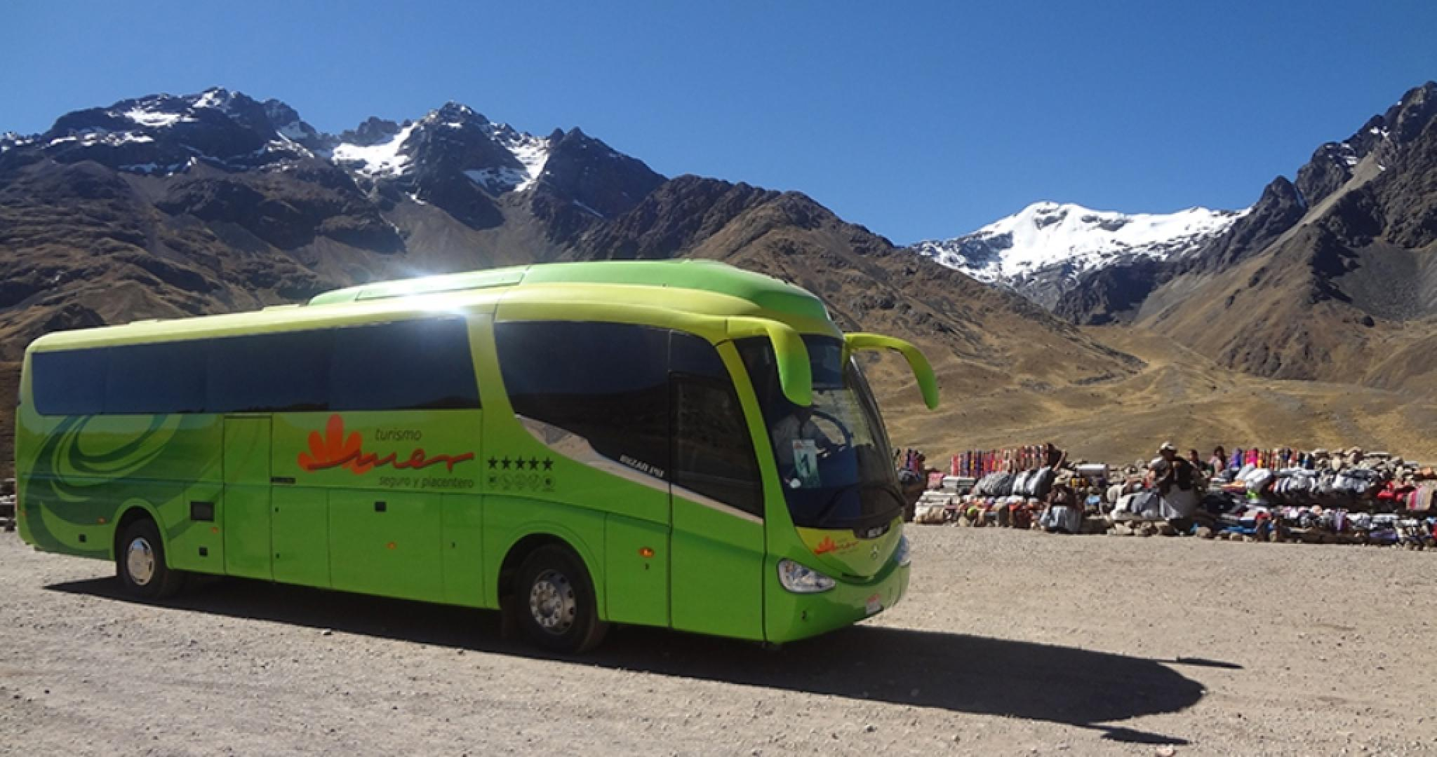 Cusco to Puno All Inclusive Bus