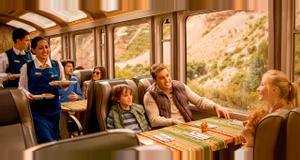Peru Vistadome Train - Aguas Calientes to Ollantaytambo