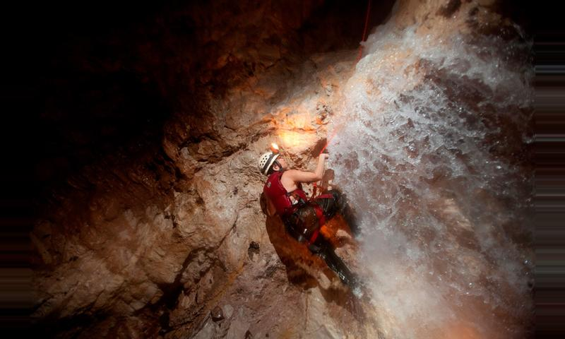Waterfall Cave Expedition at Caves Branch