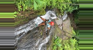 Costa Rica Waterfall Rappelling and Zipline