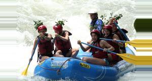 Costa Rica Rafting de Aguas Rápidas