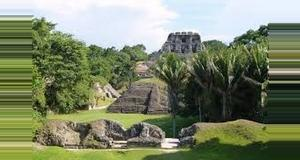 Belize Xunantunich and Inland Blue Hole