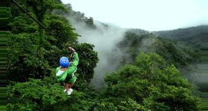 Costa Rica Aventura de Canopy en Río Balsa