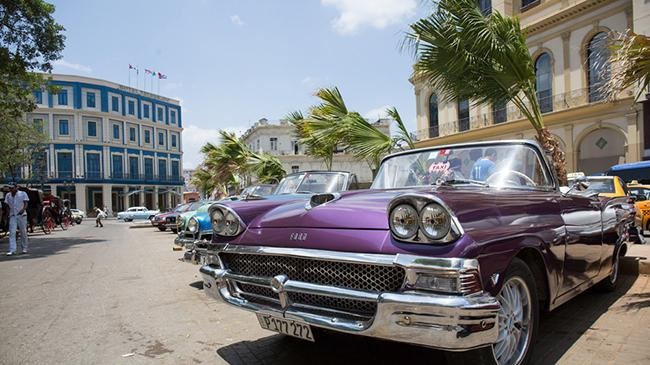 Cuban Classic Car Maintenance